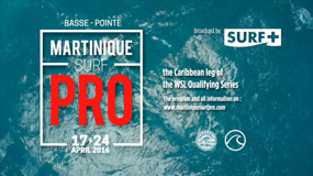 11 martinique surf pro TV teaser reezom